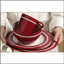 5-piece Dinnerware - Emeril Lagasse & Epstein Sourcing u0026 Design - For the Home